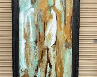 "GICLEE BY V. KLAUSS TITLED CHANCES                44""x80"". $250.00"