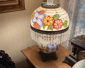 one of many fantastic porcelain lamps