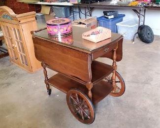Vintage Tea Cart, I used it for Liquor, you choose.