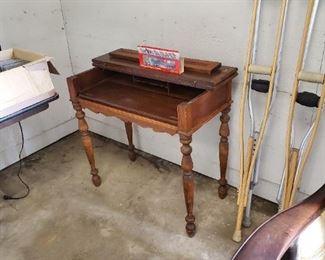 Antique Spinette desk