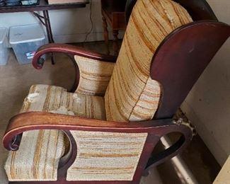 Vintage recliner