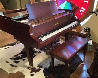 Baldwin grand piano equipped as a player piano