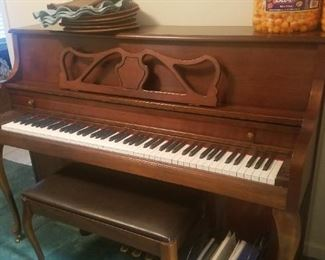 Kimball french provincial piano