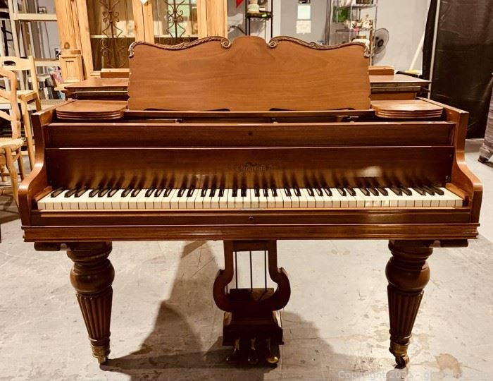 Beautiful Chickering and Sons Baby Grand Piano