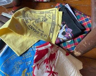 100's of scarfs... many Vintage Jamboree