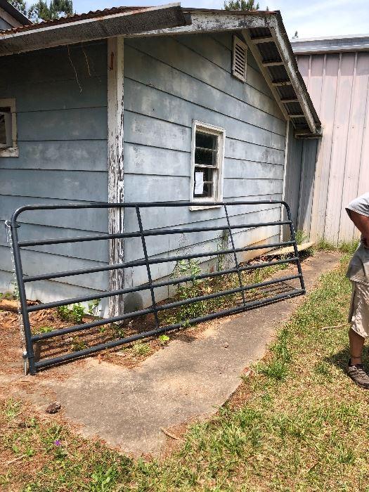 12' cattle gate