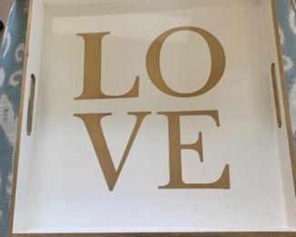 """""""Love"""" Tray"""