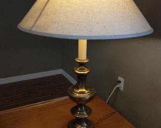 Antique brass lamp