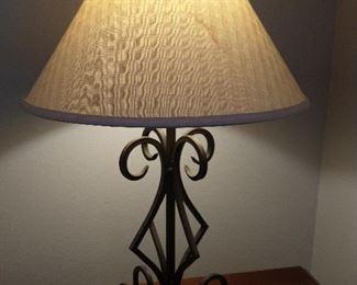 Iron lamp (set of 2)