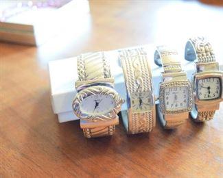 Geneva Stainless Quartz Ladies Watches