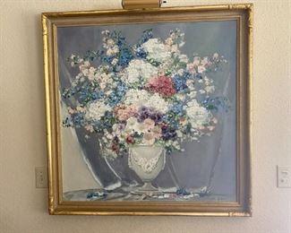 Joseph Lane flower print