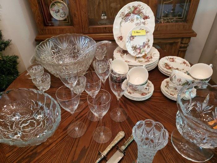 China and Glassware