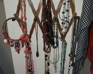 Jewelry - necklaces, earrings, watches