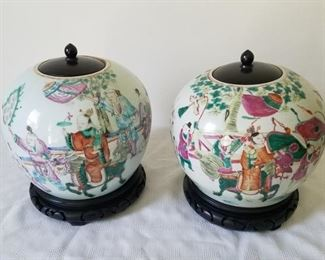 Antique Chinese jars