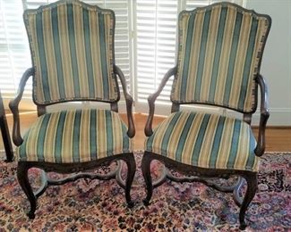 Pair of Baker chairs