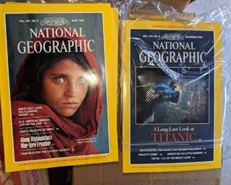 Huge National Geographic collection 1940-2018