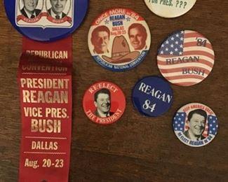 ReaganBush 84 Election Pins