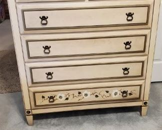 Vintage Wood Chest of Drawers