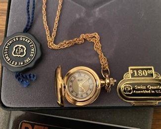 Belair Swiss Quartz Vintage Pocket Watch