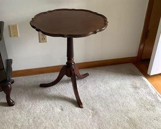Mahogany table