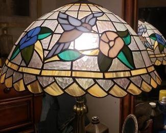 hummig bird tiffany lamp