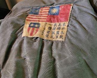 WW2 bomber jacket. Authentic. Navy.