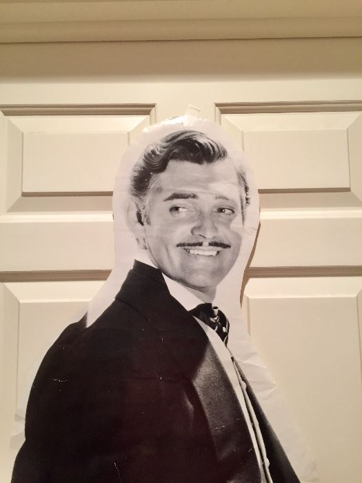 Clarke Gable is with us - come meet him!
