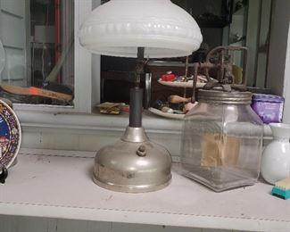 Dazey Butter Churn, Antique lantern