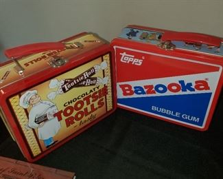 Bazooka Lunchbox and Tootsie Roll lunchbox