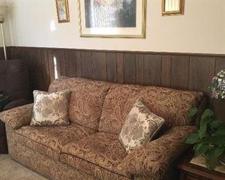 "Sleeper Sofa, 78"" long x 36"" deep x 33"" high to back (17"" high to seat)"