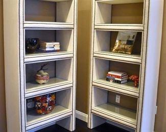 Mitchell Gold shelves