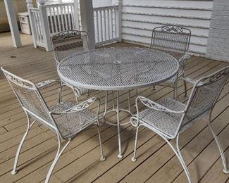 Woodard patio set #3 of 3 sets