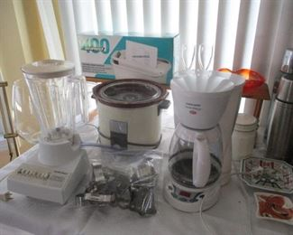 TABLE OF HOME APPLIANCES