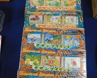Pokemon Tropical Island cards