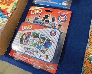 Cubs Uno playing cards