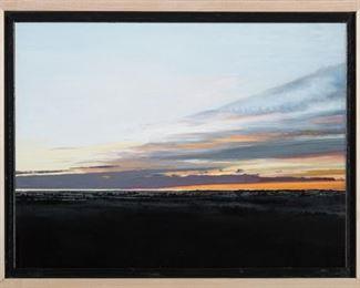 Clive Fullagar Drawn to the Horizon Oil
