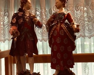 Pair of antique English figurines 450 or best