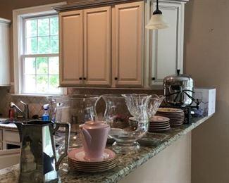 Beautiful kitchen ware items!