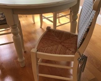 Beautiful Pottery Barn Table and chairs in near perfect condition!