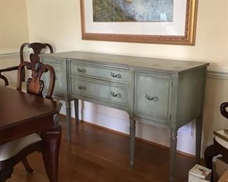 Circa 1950's  sideboard in near perfect condition for age of piece.
