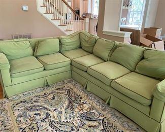 BEAUTIFUL Vanguard Sectional Sofa!