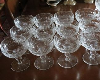 12 WATERFORD COLLEEN SHERBETS.  EARLY SALE.  $20 EACH.