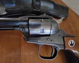 Ruger 22 single six revolver
