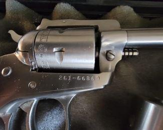 Silver 22 revolver