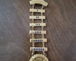 NRA Sharpshooter badge