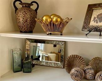 Mirror and decor