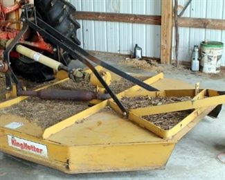 King Kutter 6' 3-Point Hitch Rotary Cutter