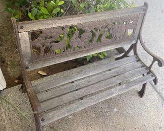 Child's bench, 25.00