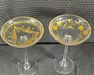 Extra Large Champagne Glass Set