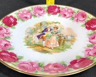 Victorian Couple Plate